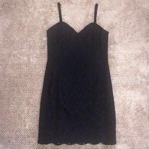 Aritzia Talula Little Black Lace Dress